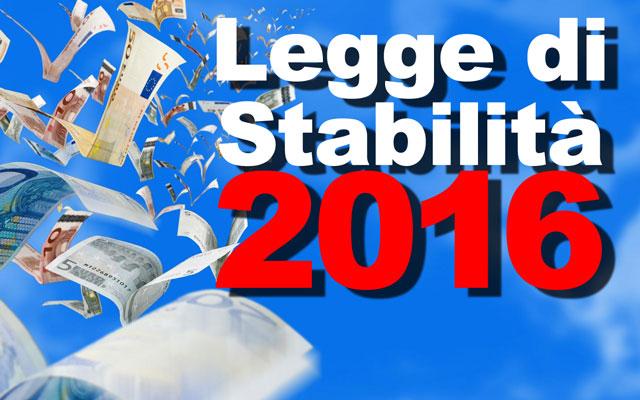 Emendamenti legge stabilita 2016